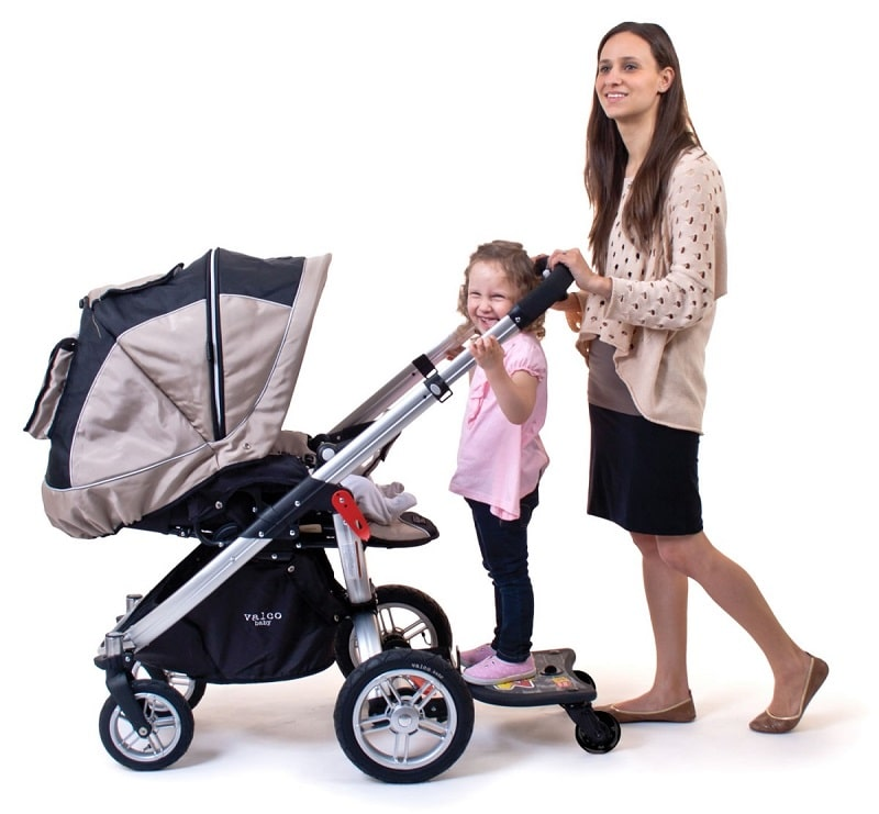Stroller with Standing Platform