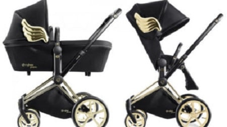 vintage pram stroller