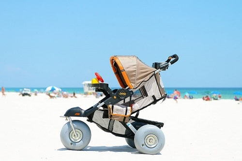 how to clean a bob stroller