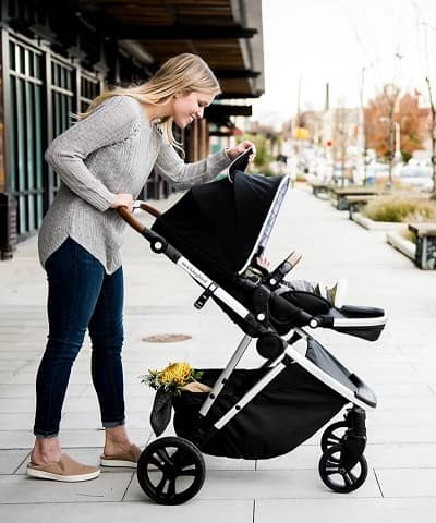 stroller single to double